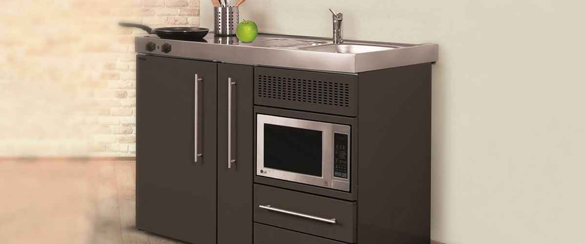 Affordable Compact Mini Kitchens Now Available In 5 Exciting New Colours Elfin Kitchens