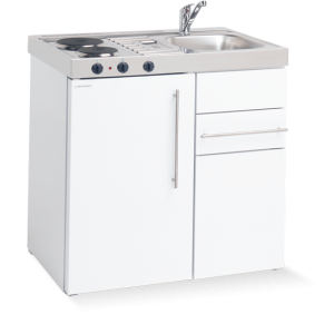Elfin Kitchen M-090-US-RK-White