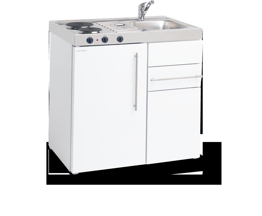 Elfin Kitchen M-090-US-RK-White
