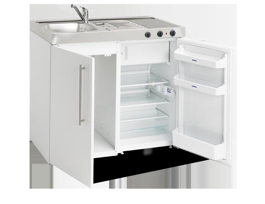 Elfin kitchen M-100-LC-White open