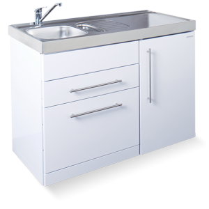 Elfin kitchen M-120-DW-LT-White