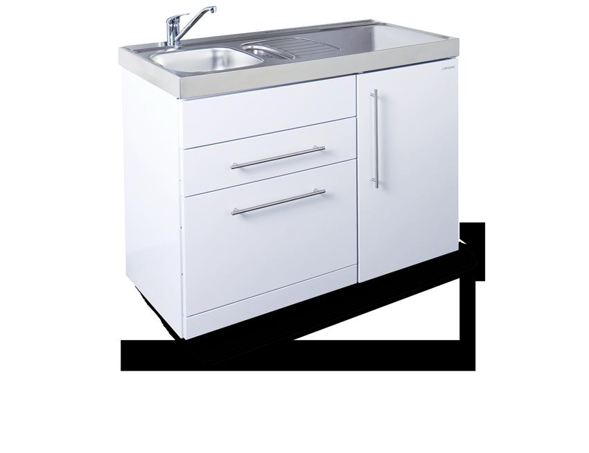 Elfin kitchen M-120-DW-LT-White-850