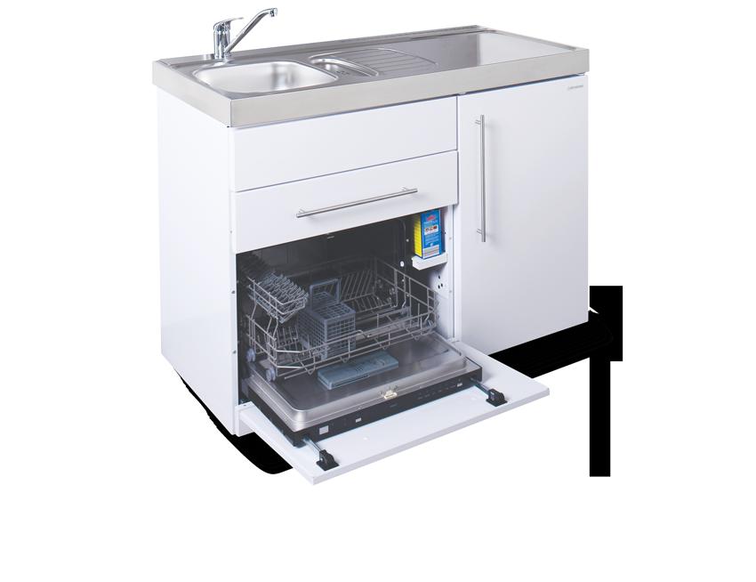 Elfin kitchen M-120-DW-LT-White Open