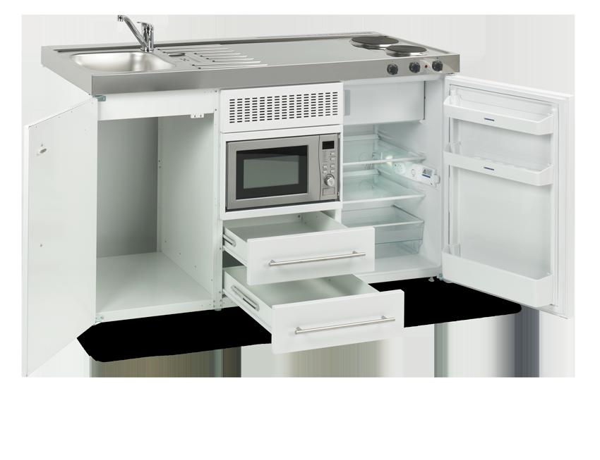 Elfin kitchen M-150-sMos-White open